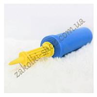 Насос для воздушных шаров двухсторонний/двухходовой Китай, качество хорошее, разные цвета, 1 штука
