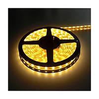 SMD 3528 светодиодная лента 5м желтая 300 диодов