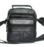 Кожаная мужская сумка 2 в 1