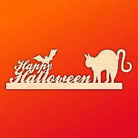 "Надпись ""Happy Halloween"" на подставке"