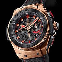 Часы Hublot F1 King Power gold механические, мужские