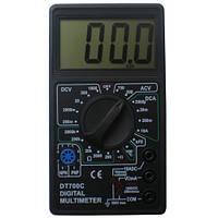 Мультиметр DT-700C (со звуком+температура), универсальний мультиметр, компактный износостойкий мультиметр