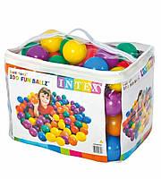 Мячики для сухого бассейна Intex 49600NP 8см 100шт