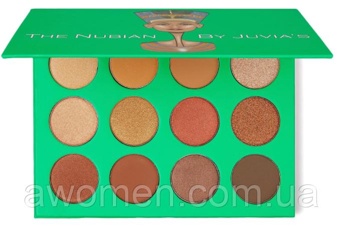 Тіні для очей Juvias The Nabian Eyeshadow palette (12 кольорів)