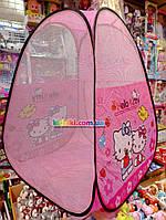 Детская игровая палатка домик  Хеллоу китти