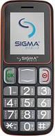 Мобильный телефон Sigma mobile Comfort 50 mini3 Grey-Orange 'бабушкофон'
