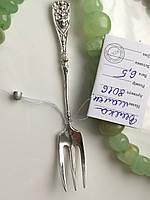Вилка серебряная маленькая 8016