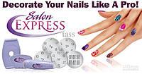 Salon Express Nail Art Stamping Kit, набор для стемпинга, стемпинг, маникюрный набор для узоров Салон Экспресс