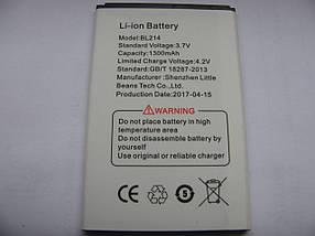 Акумулятор Nephy BL214 для Lenovo A316i (ємність 1300mAh)