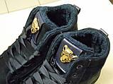 Кроссовки Криперы на меху, цвет-Синий,  материал-иск.замша, фото 8