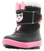 Зимові чобітки (зимние дутики) Demar Bear рожевий