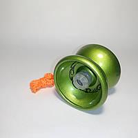 Йо-йо металлическое с подшипником (цвет-зеленый)
