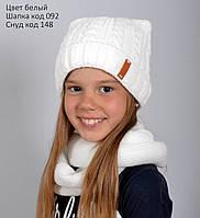 Шапка с ушками для девочки (образец), фото 1