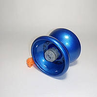 Йо-йо металлическое с подшипником (цвет-синий)