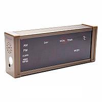 Настольные электронные Часы Led Clock ZX 13 M, часы будильник с термометром, часы для дома