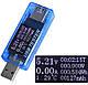 USB тестер KWS-MX17 4-30V 5A для проверки зарядок/кабелей/Power Bank + нагрузочный резистор до 3А, фото 5