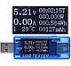 USB тестер KWS-MX17 4-30V 5A для проверки зарядок/кабелей/Power Bank + нагрузочный резистор до 3А, фото 7