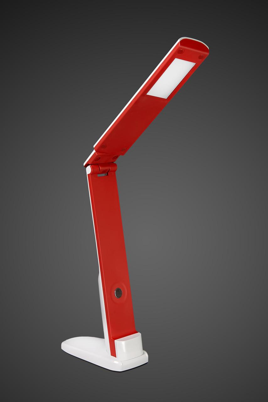 Настольная светодиодная лампа DELUX TF-310 5 Вт LED красная