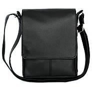 Удобная мужская сумка черная