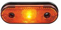 Габарит боковой светодиодный LED желтый 119*44 (LD633)