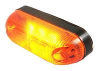 Габарит боковой светодиодный LED желтый 81*24 (LD390)