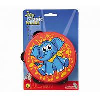 Музыкальный инструмент Simba Бубен Слоненок 6838812 ТМ: Simba