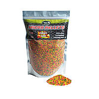 Микро пеллетс Micro Pellets Carp Zone Fruit Mix (Фруктовый микс) 2mm
