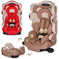 Детское автокресло M 3653 Bambi, группа 1-2-3 (9-36 кг)