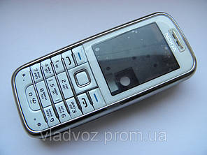 Корпус для Nokia 6233 белый + клавиатура class AAA, фото 2