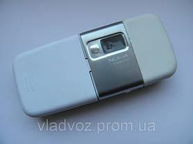 Корпус для Nokia 6233 белый + клавиатура class AAA, фото 3