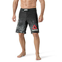 Мужские шорты Reebok Combat UFC Fight Night Blank Octagon (Артикул: CF0319), фото 1