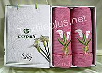 Полотенеца Турция 2шт Merpatti Lily