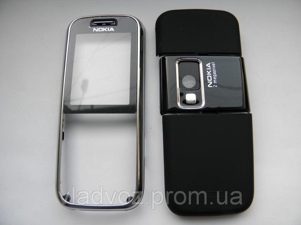 Качественный корпус Nokia 6233 чёрный не дорогой