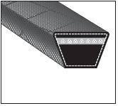 Ремни приводные клиновые Z(0) -560