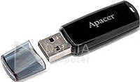 Флешка Flash Apacer AH322 32Gb black, Носитель информации AH322 32Gb