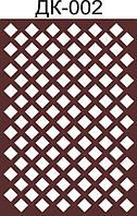 Лист перфорированный ХДФ 3мм, неокрашенный, ДК002