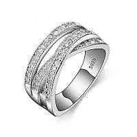 Элегантное кольцо Giemi цирконий, фото 1