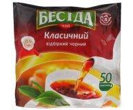 Чай черный Бесіда байховый 50 шт х 1,8 гр