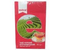 Чай черный Extra! вьетнамский байховый мелкий 80 гр
