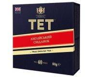 Чай English Breakfast черный байховый ТЕТ 40 шт х 2 гр