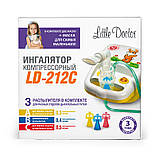 Ингалятор компрессорный Little Doctor LD-212 детский, фото 4