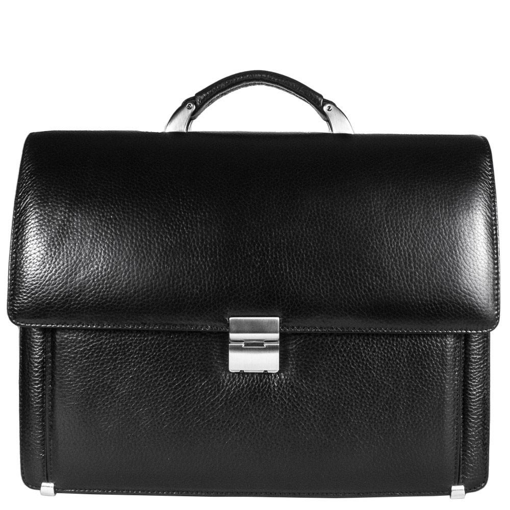 2c9fc16cf136 Портфель Desisan 319-011 кожаный Черный: 603065603