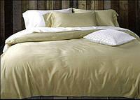 Постельное белье Сатин OLIVE+WHITE, полуторный