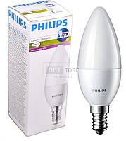 Philips Светодиодная лампа Philips LED CorePro candle (свеча) ND 3-25W E14 827 B39 FR