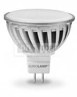 EUROLAMP Светодиодная лампа EUROLAMP LED Chrome MR16/ GU5.3/ 4.5W/ 3000K/ 220V