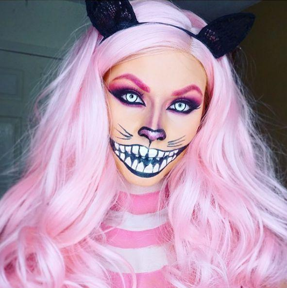 Макияж Розовый Чеширский кот