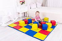 Мат-коврик игровой с кубиками 150х150х3 см ТМ Tia-sport sm-0046