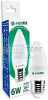LedEx LED лампа LEDEX свечка 6W, E27, 4000К, 570lm, 160?, чип: Epistar (Тайвань)