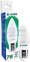 LedEx LED лампа LEDEX свечка 7W, E27, 4000К, 665lm, 160?, чип: Epistar (Тайвань)