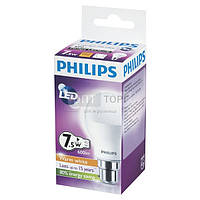 Philips Светодиодная лампа Philips LEDBulb 7.5-60W E27 3000K 230V A55 (PF)